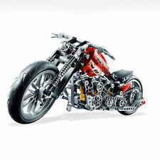 TECHNIC Harley Davidson Chopper Motorcycle Technical Brick Model Moto