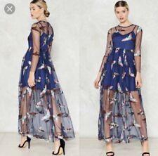 Maxi Vestido De Mujer Nasty Gal Para Ebay