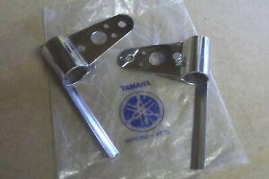 YAMAHA GT1  GT80  GTMXC  1973>1976  GENUINE HEADLAMP BRACKETS - FREE UK POSTAGE