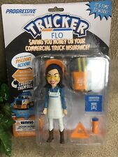 Progressive Trucker Flo Action Figure Doll & Accessories New Moc Promo Insurance