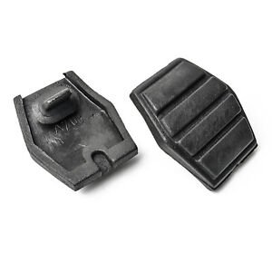 2x Brake Pedal Rubber Pads for Renault Clio Megane Twingo 2 5/16x1 13/16in