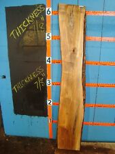 "#7595 spalted maple maple Slab wood lumber 74""L 12 1/2""W 7/8""T"