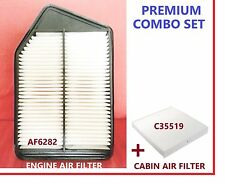 AF6282 C35519 Engine & Cabin Air Filter Combo Set for 2013 -16 Honda Accord 2.4L