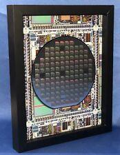 Silicon Wafer - The Microprocessor Chip (TI,TMS370,MPU,CPU,8x10