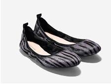 Size 8.5  Cole Haan Women Jenni Ballet Flat Shoes Haircalf