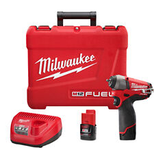 "Milwaukee Electric Tool 2452-22 M12  Fuel 1/4"" Square Drive Impact Driver"
