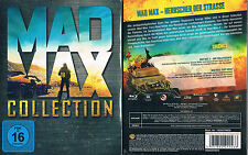 MAD MAX 1 2 3 4 --- Mad Max Collection --- Blu-ray --- Uncut --- Neu & OVP ---