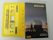 Transformers Bumblebee Movie Promotional Cassette Tape Rare