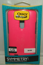 New Otterbox Symmetry Series Series case for LG G3 Pink
