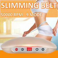 Electric Slimming Belt Machine Vibration Heating Massage Body Waist Trainer  +A