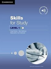 Skills for Study Level 1 Student's Book with Downloadable Audio, , Very Good con