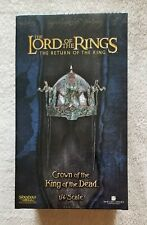 Sideshow Lord Of The Rings Crown Of The King Of The Dead 1/4 Scaled Helm
