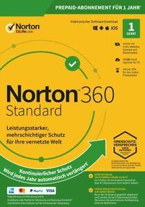 Norton 360 Deluxe/ Premium 2021 KEIN ABO/ 1 - 10 Geräte/ 1 Jahr / VPN/ Download
