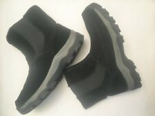 G.H. Bass & Co. Excalibur Mens Black Suede Pull-On Boots mens size 10 M