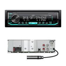 JVC KD-X451DBT Autoradio mit Bluetooth / DAB+ / Front USB / AUX-IN ohne CD-LW