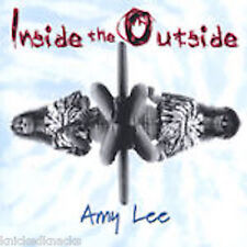 Amy Lee • Inside the Outside • signed/dedicated front Insert • original 1999 CD