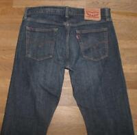 """>>> Levi `S 514 D' Homme Jeans / Levis Bleu Jeans En Noir-Bleu En W34 """" / L34 """""""