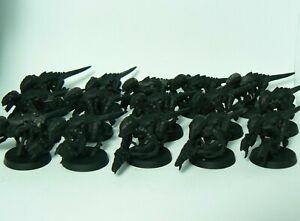 15x Termagants Nids Tyranids 40k Warhammer Assembled Models Brood
