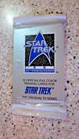 1991-Star Trek 25th Anniversary Trading Cards 1 Sealed Pack