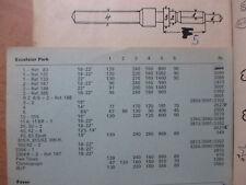 AUFZUGSWELLE FÜR EXCELSIOR PARK Caliber 43,83 Sport  ~NOS~ winding stem