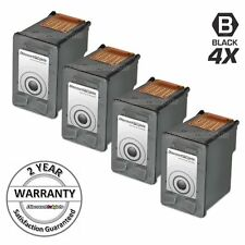 4Pk for HP C9351AN Black Ink Cartridge for HP 21 Cartridge for HP FAX 1250 3180