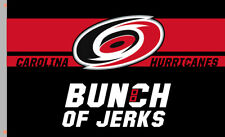 Carolina Hurricanes Bunch of Jerks team Souvenirs flag 90x150cm3x5ft best banner
