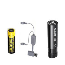 Combo: NITECORE LR12 LANTERN/FLASHLIGHT -1000Lm w/NL183 Battery & A1 Charger