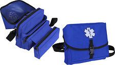 Blue EMS Star of Life Medical Field Kit Bag