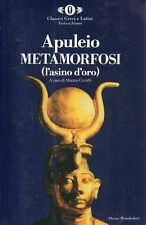 A29 Metamorfosi (l'asino d'oro) Apuleio cavalli Classici greci Mondadori 1988