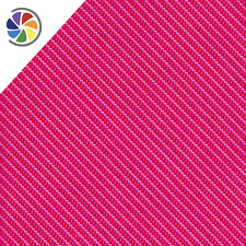 "Hydrographics Film Fine Pink Rope Carbon Fiber 20"" x 6.5'"