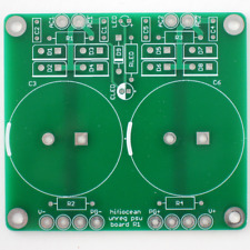 DIY PCB: Power Supply for Audio Amplifier, Dual Isolated Rails, CRC snubbers
