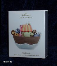 NEW & Mint 2012 Hallmark NOAH'S ARK with Animals Keepsake Ornament