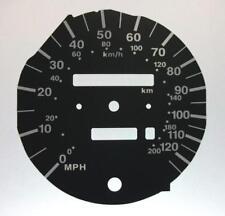 Lockwood Vauxhall Corsa B 0-125MPH Speedo Only BLACK Dial Conversion Kit C581