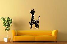 Wall Stickers Vinyl Decal For Kids Giraffe Nursery Animal ig1355