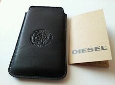 NEW AUTHENTIC DIESEL iPHONE 3G / 3GS, 4 /4S 100%  LEATHER CASE SLEEVE BAG POUCH