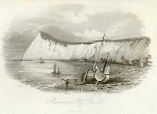 Scenery of Great Britain - 1841- SHAKESPEARE'S CLIFFS
