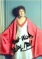 """Katherine Kath Signed Photo 7"""" x 5"""" Mme Engadine Prisoner Patrick McGoohan NSPCC"""