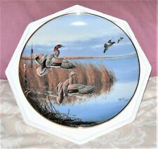 "Danbury Mint Plate ""Follow The Leader"" by David Maass Ducks Taking Flight Ltd"