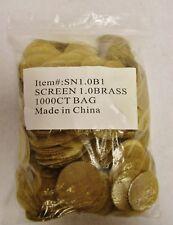 """1000 (1.0"""") 1 inch Brass Pipe Screen Tobacco Smoke Smoking Screen Free Shipping"""