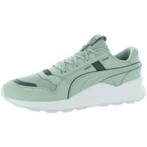 Puma Mens RS 2.0 Base Leather Performance Running Shoes Sneakers BHFO 8086