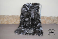 Pelzdecke fuchs, Felldecke, Tagesdecke, Fell Pelz  Blanket fur /bedspread