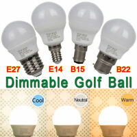 4.5W E14 B22 E27 B15 LED Light Bulb Dimmable Golf Ball ES SES BC SBC Downlight C