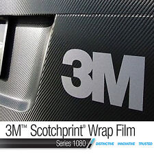 3M Genuine Scotchprint WRAP FILM - Carbon Fibre Vinyl - 300mm wide x 1.520m long