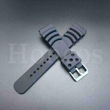 For Seiko Diver Watch Band Strap SKX007 SKX009 22mm Black Rubber Z22 4FY8JZ