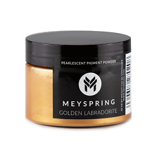 MEYSPRING Golden Labradorite Mica Powder for Epoxy - Resin Color Pigment