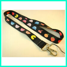 NEW Pacman Fruity Game Neck Lanyard Strap Cell Mobile Phone ID Card Key chain