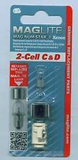 Ersatzbirne  MagLite 2-Cell C D  Birne Glühlampe XENON