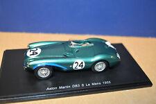 Spark 1/43 1955 Aston Martin DB3 S #24 Le Mans P. Walker & R. Salvadori (New)