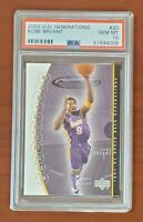2002 Upper Deck Generations Kobe Bryant Lakers PSA 10 GEM MT New Holder LOW POP