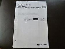 Service Manual Harman Kardon TU915